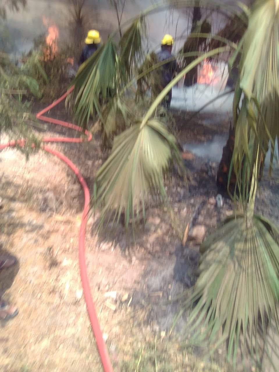 السيطرة على حريق نشب داخل مدرسة بدمنهور
